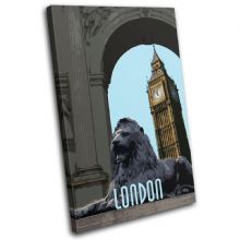 London City Big Ben Landmarks - 13-6082(00B)-SG32-PO